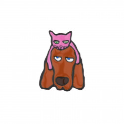 Cat And Basset Hound Pin's