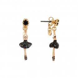 Boucles D'oreilles Pendantes Boucles D'oreilles Mini Ballerine En Tutu Noir70,00€ AEMDD101T/5Les Néréides