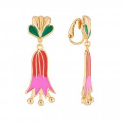 Boucles D'oreilles Originales Boucles D'oreilles Pendantes Clip Fleur De Lys55,00€ AJRB110C/1N2 by Les Néréides