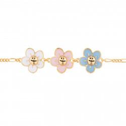Bracelets Originaux Bracelet Fin Petites Fleurs55,00€ AJRB201/1N2 by Les Néréides