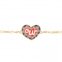 Bracelets Bracelet Fin Cœur Oui45,00€ AJRB202/1N2 by Les Néréides