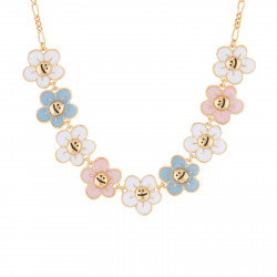 Colliers Collier Ras De Cou Petites Fleurs
