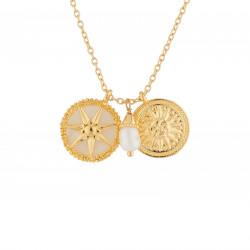 Colliers Pendentifs Collier Soleil Et Perle