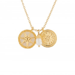 Sun And Pearls Necklace