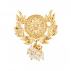 Broches Broche Soleil Et Feuilles De Laurier110,00€ AJWT501/1Les Néréides