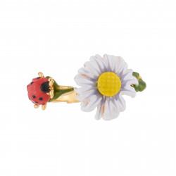 Bagues Ajustables Bague Toi Et Moi Fleur Et Coccinelle60,00€ XCP608/1Les Néréides