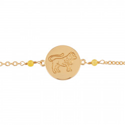 Bracelets Fins Bracelet Signe Astrologique - Bracelet Lion