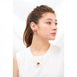 Boucles D'oreilles Boucles D'oreilles Asymétriques Petit Coquillage