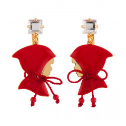 Clip-on Earrings With Cut...