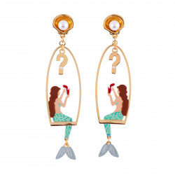 Earrings Little Mermaid...