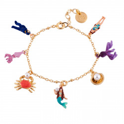 Bracelets Double Bracelet Coquillages Et Écailles