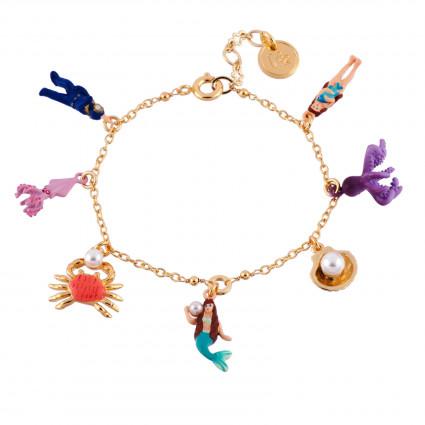 Bracelets Double Bracelet Coquillages Et Écailles65,00€ AFJS202/1N2 by Les Néréides