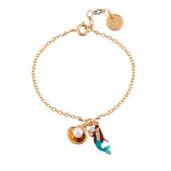 Bracelets Bracelet Petite Sirène Et Coquillage40,00€ AFJS204/1N2 by Les Néréides