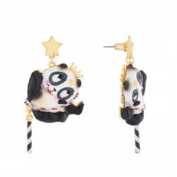 Boucles D'oreilles Boucles D'oreilles Pendantes Tige Panda Voltigeur