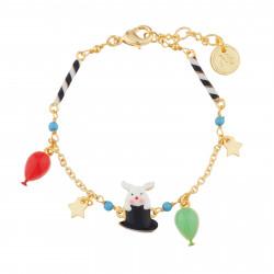 Bracelets Bracelet Charms Lapin Sortant Du Chapeau De Magicien65,00€ AJCI201/1N2 by Les Néréides