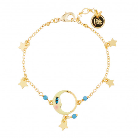 Collier Gypsunset 3 soleils rose et jaune