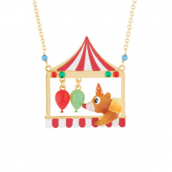 Colliers Sautoir Ours Clown Et Ballons