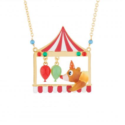 Colliers Sautoir Ours Clown Et Ballons