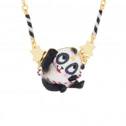 Collar Fino Panda Acróbata