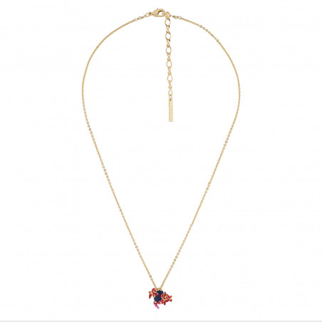 Long necklace Paris mon amour lovers on a brigde