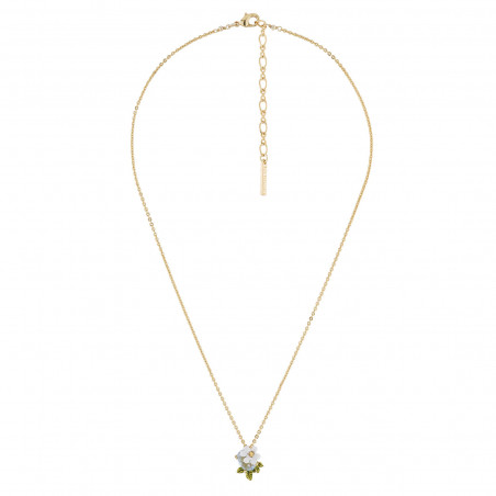 Double necklace Paris mon amour lovers and eiffel tower