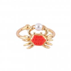 Bagues Bague Ajustable Petit Crabe