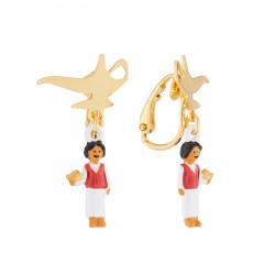 Boucles D'oreilles Boucles D'oreilles Clips Lampe Magique Et Aladdin