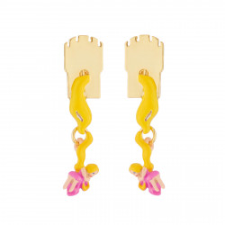 Boucles D'oreilles Boucles D'oreilles Clips Chevelure Princesse Raiponce