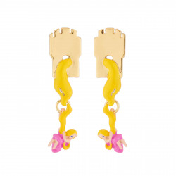 Boucles D'oreilles Boucles D'oreilles Tiges Chevelure Princesse Raiponse