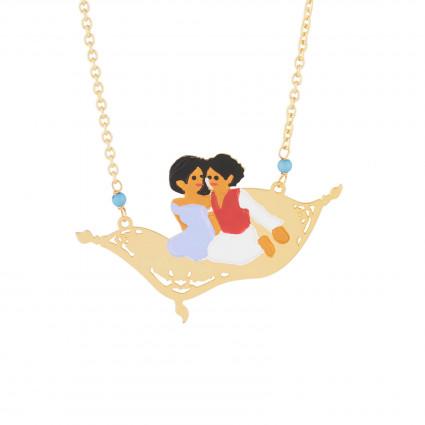 Colliers Collier Sautoir Tapis Volant Jasmine Et Aladdin