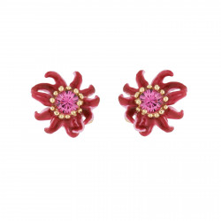 Passion Flower Stud Earrings