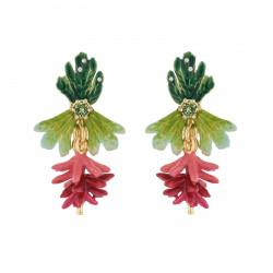 Boucles D'oreilles Clip Boucles D'oreilles Pendantes Clip Bananes Roses