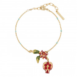 Pomegranate Thin Bracelet