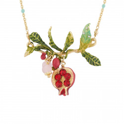 Pomegranate Thin Necklace