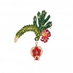 Broche Granada Y Pasiflora