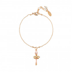 Bracelets Fins Bracelet Mini Ballerine En Tutu Doré