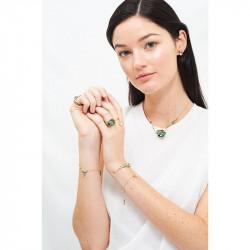 Bracelets Charms Bracelet Charms Feuillage Tropical, Colibri Et Fleur À Cristal90,00€ AJLC201/1Les Néréides