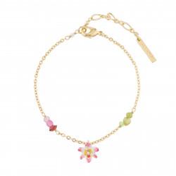 Bracelets Charms Bracelet Charms Fleur Tropicale Et Perles De Verre70,00€ AJLC202/1Les Néréides