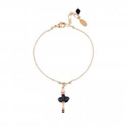 Bracelets Fins Bracelet Mini Ballerine En Tutu Noir50,00€ AFMDD201/5Les Néréides