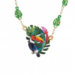 Toucan, Tropical Leaves And...