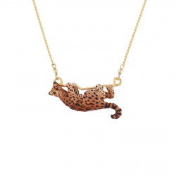 Wild Ocelot Long Necklace