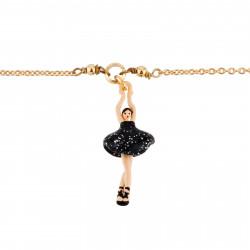 Bracelets Fins Bracelet Mini Ballerine En Tutu Noir
