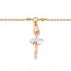 Bracelets Fins Bracelet Mini Ballerine En Tutu Argenté