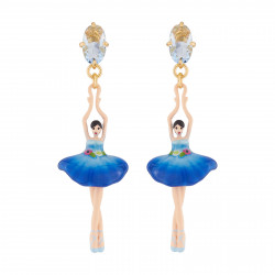 Royal Blue Ballerina And A...
