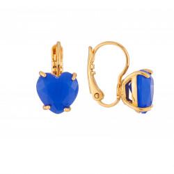 Boucles D'oreilles Dormeuses Boucles D'oreilles Dormeuse Cœur Pierre Bleu Roi La Diamantine50,00€ AJLD145D/1Les Néréides