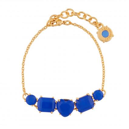Bracelets Fins Bracelet Fins 5 Pierres Bleu Roi La Diamantine80,00€ AJLD214/1Les Néréides