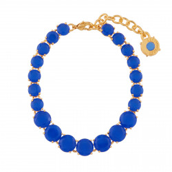Royal Blue Stones One Row...