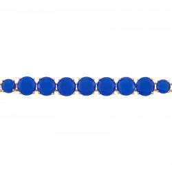 Bracelets Fins Bracelet Fin Luxe Un Rang De Pierres Bleu Roi La Diamantine130,00€ AJLD252/1Les Néréides