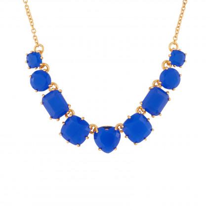 Colliers Fins Collier Fin 9 Pierres Bleu Roi La Diamantine120,00€ AJLD318/1Les Néréides