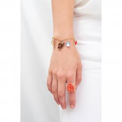 Bracelets Bracelet Multi Pampilles La Belle Et La Bête65,00€ AIBE203/1N2 by Les Néréides